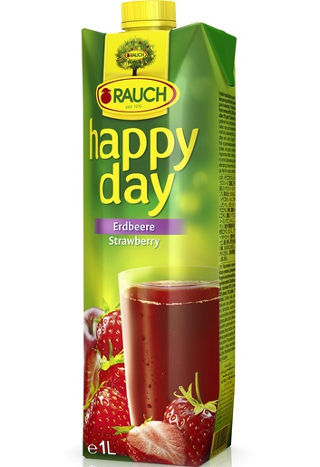 Rauch Happy Day Jahoda 50% 1l