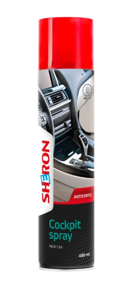 Spray Cockpit new car 400ml Sheron