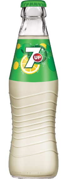 7Up 0,25l ve skle