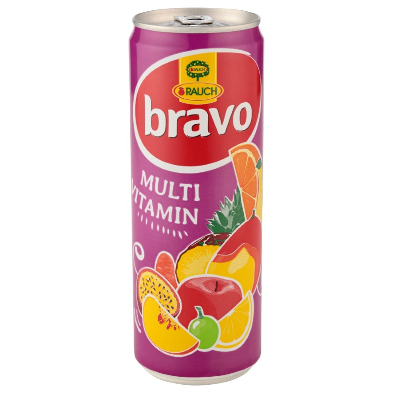 Rauch 0,355l multivitamín CAN